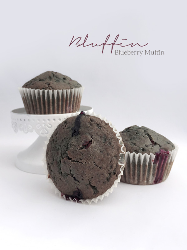 Bluffin - Vegan Blueberry Muffin