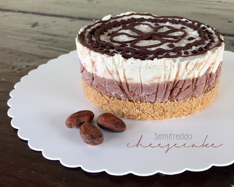 semifreddo vegan cheesecake