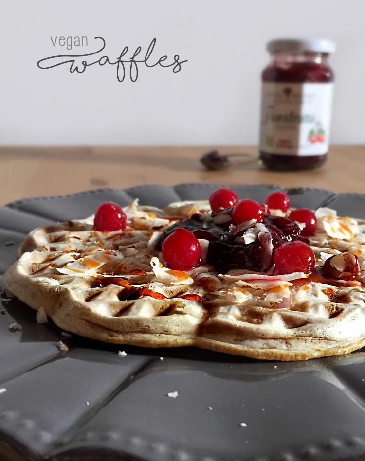 vegan waffles Rigoni Asiago