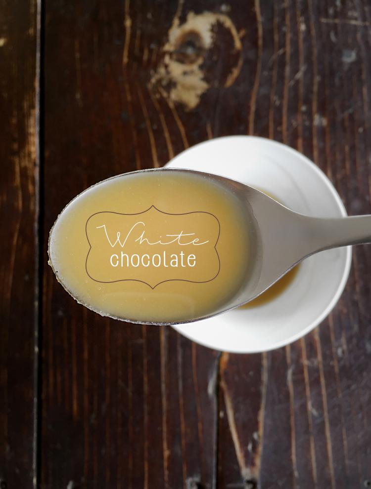 cioccolato bianco vegano homemade
