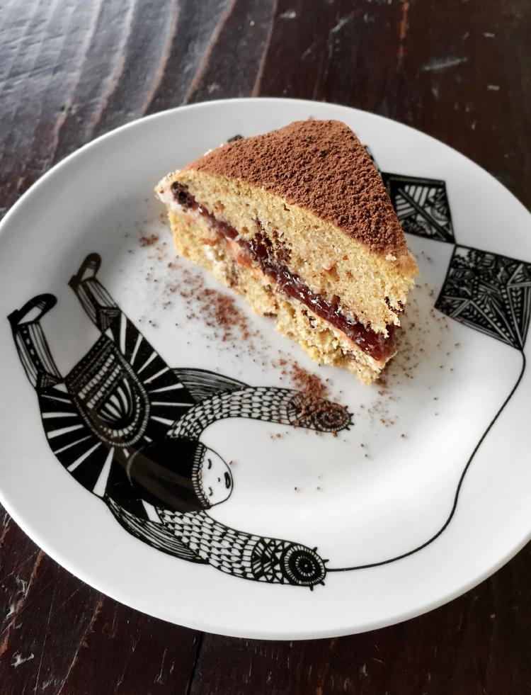 torta al farro
