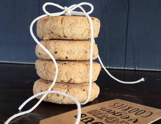 biscotti vegan con cous cous integrale