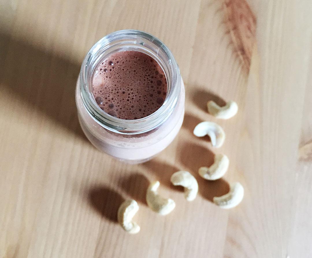latte di anacardi