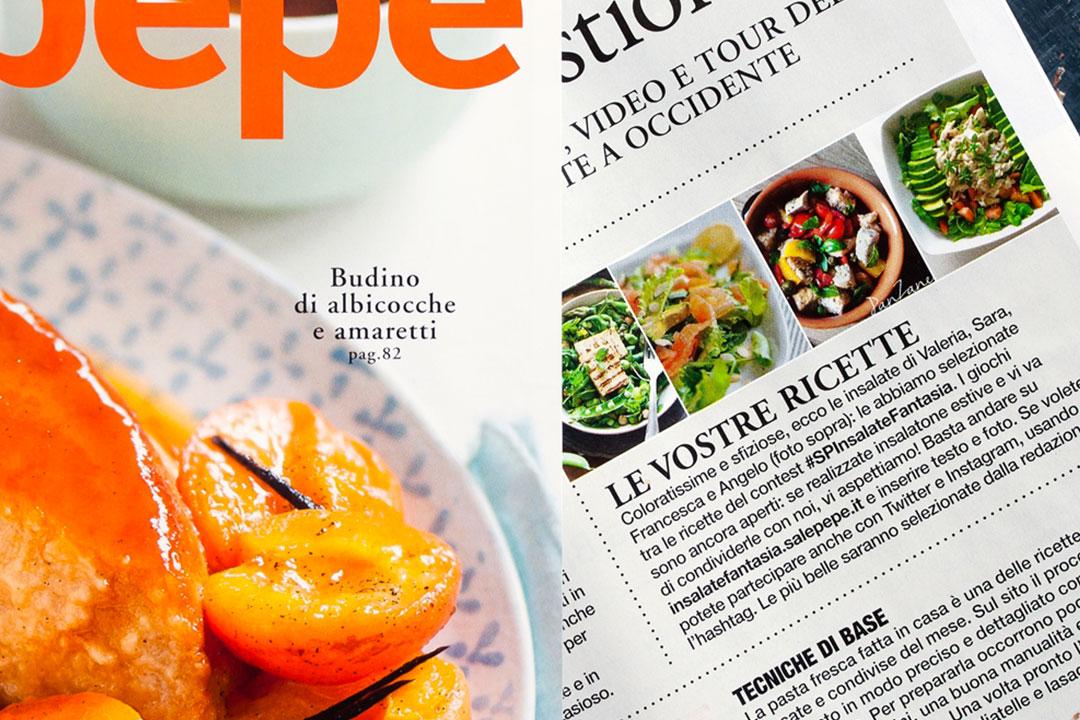 SalePepe Nomnom q.b. Food Magazine