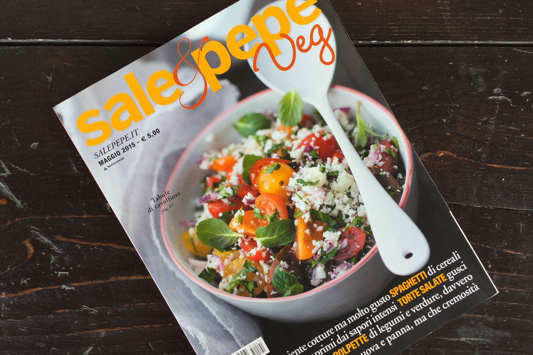 Food Magazine SalePepe Veg Nomnom q.b.