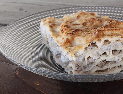 lasagne topinambur