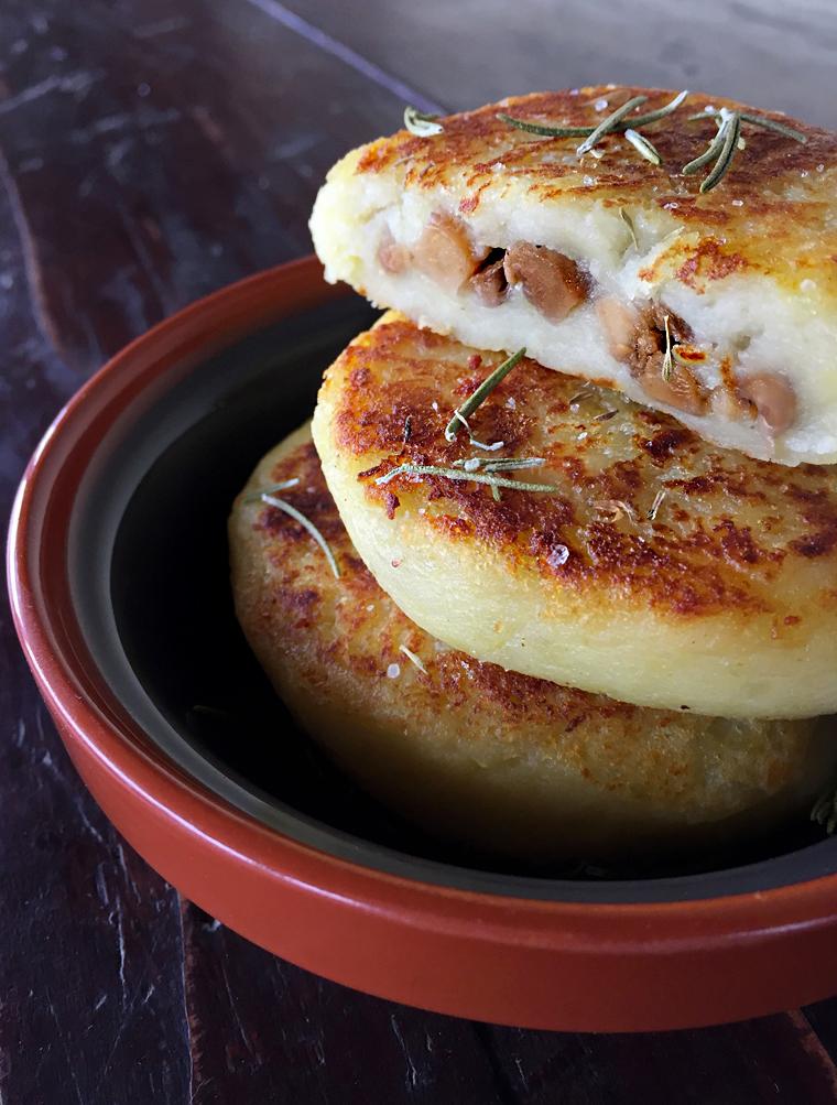 tortini di patate ripieni