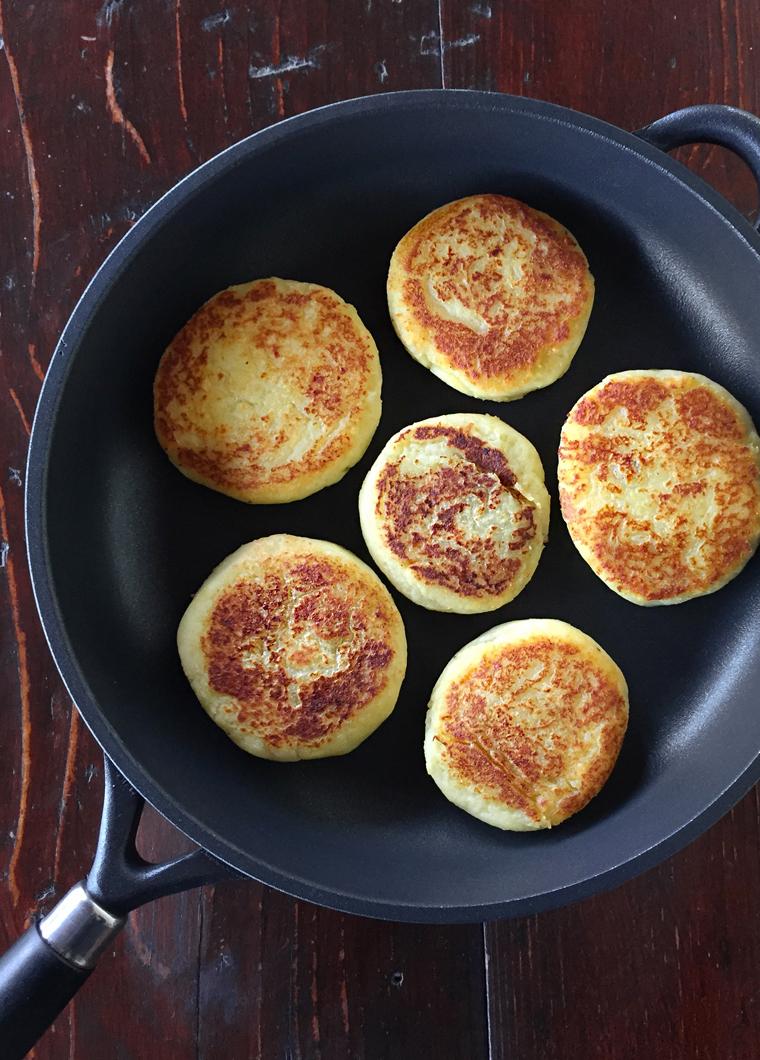 tortini di patate ripieni con Crafond