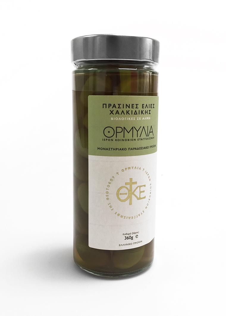 Olive Biologiche Halkidiki Verdi Greek Flavours