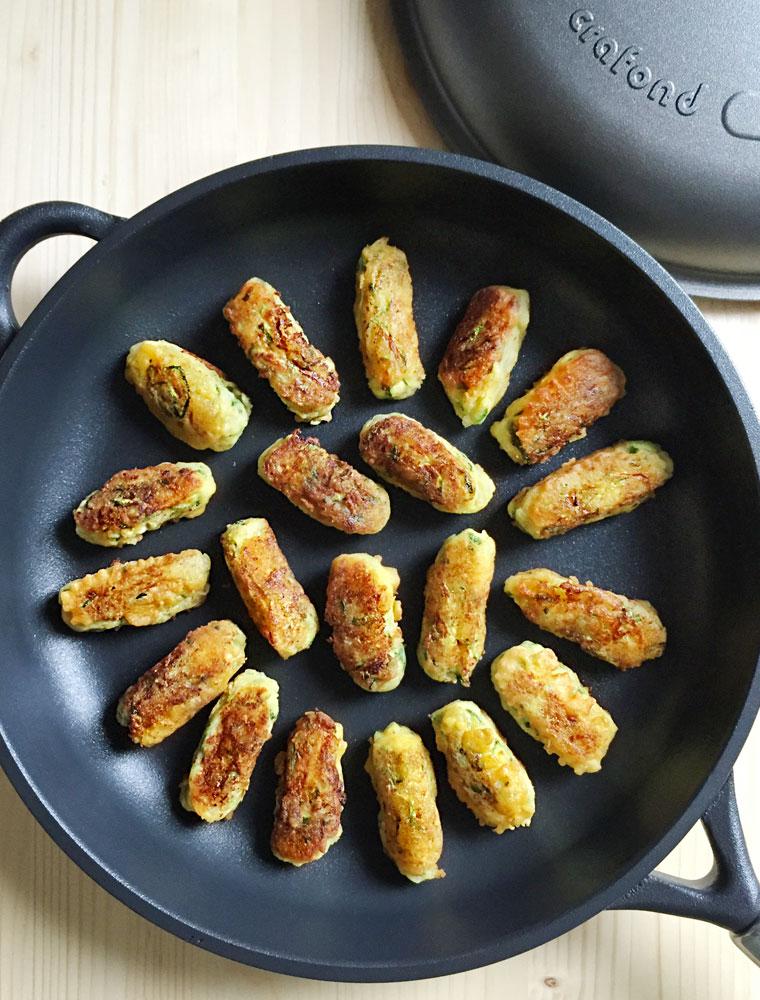 Crafond crocchette di zucchine e patate