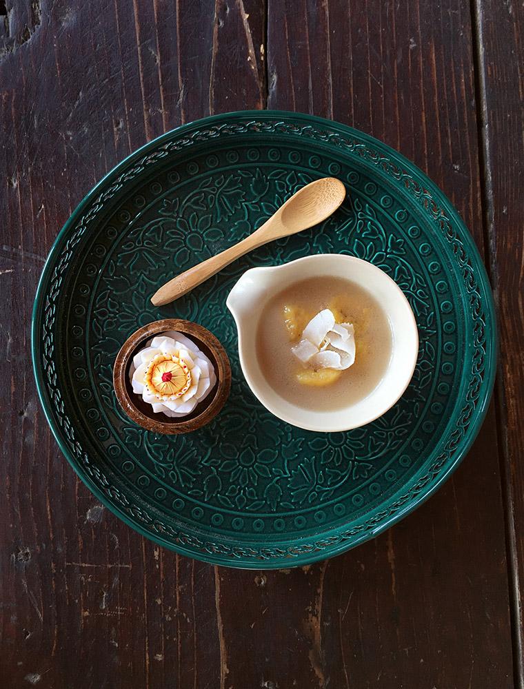 banane in latte di cocco - Kluay Buad Chee