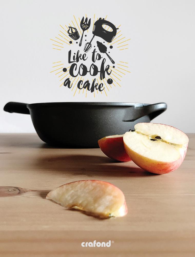 Crafond torta di mele rovesciata