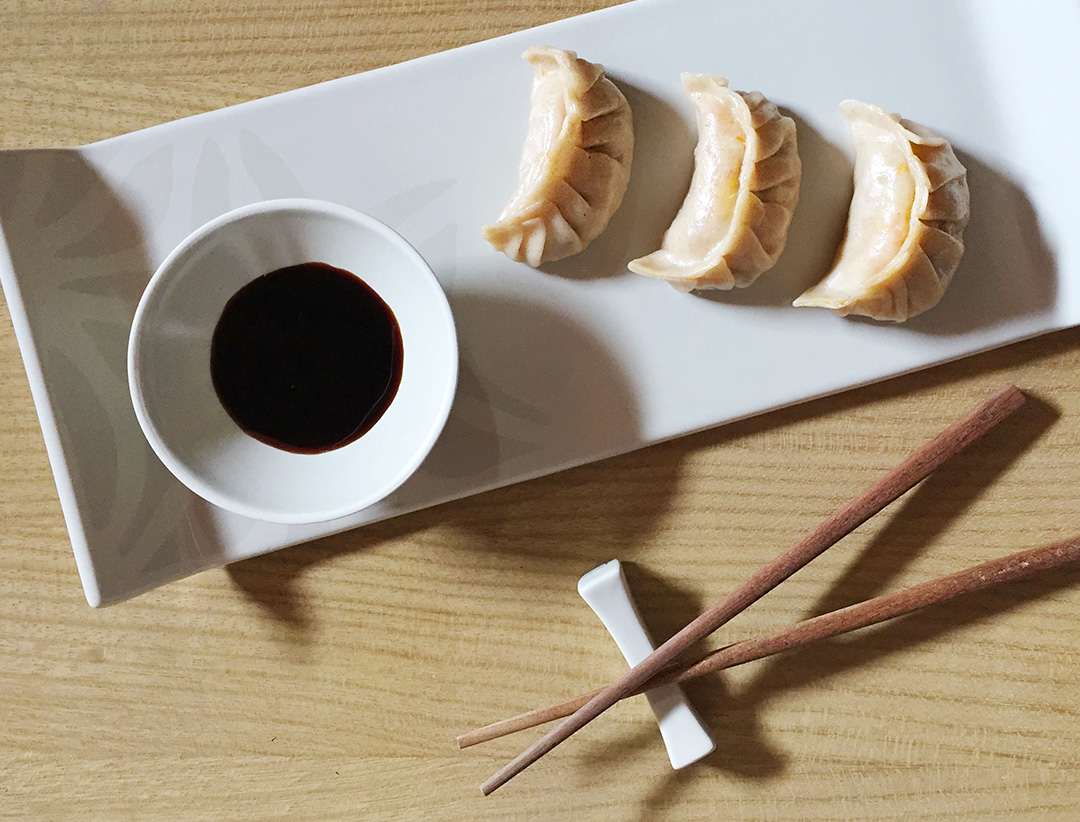 Gyoza vegetariani, ravioli giapponesi