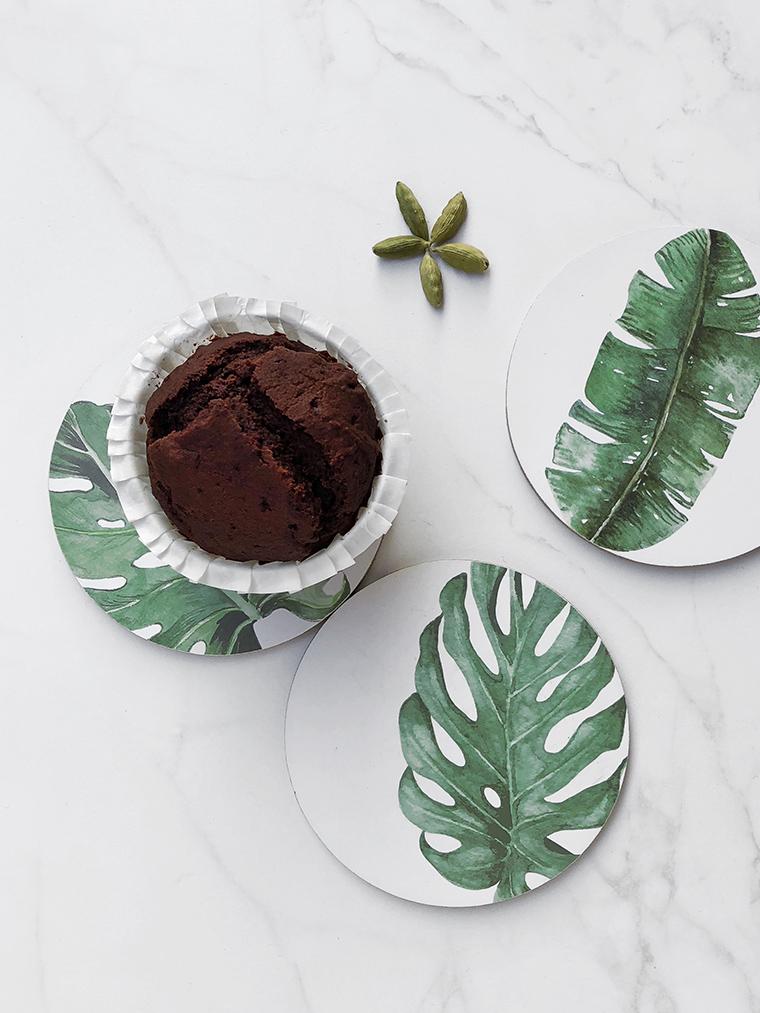 muffin vegan cioccolato e cardamomo