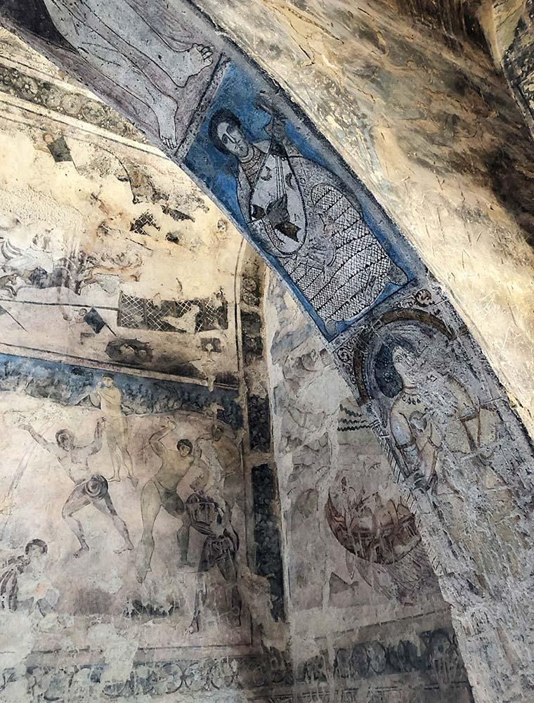 Qusayr Amra Giordania - affreschi