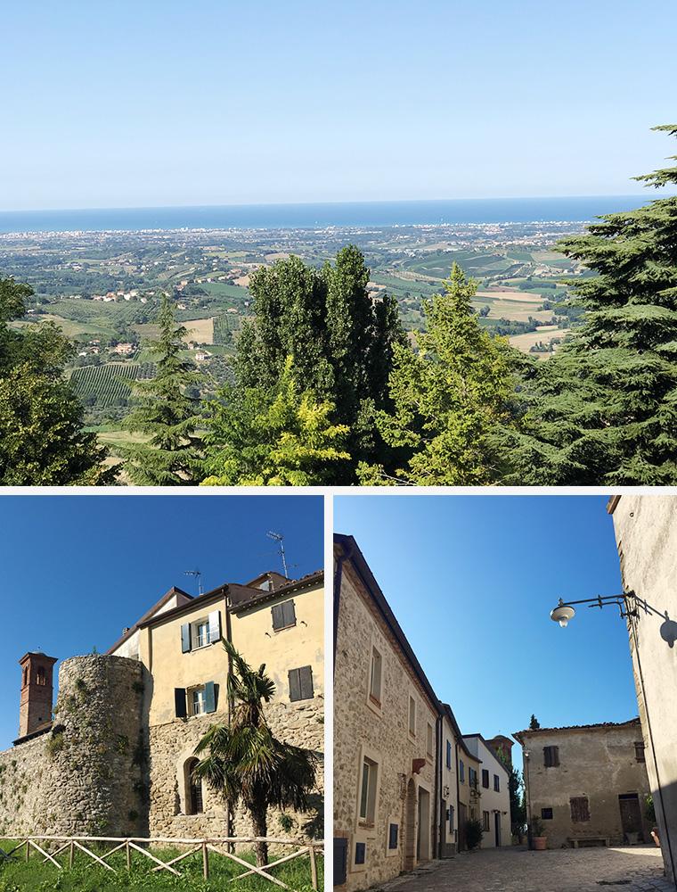 Castello di Albereto, Montescudo